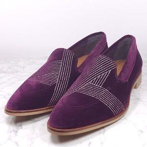 Everlane Velvet Modern Loafer in purple!
